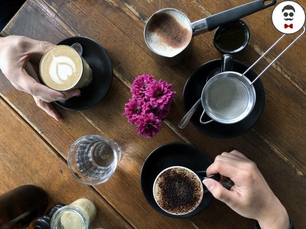 Cappuccino, Latte and Chai Latte