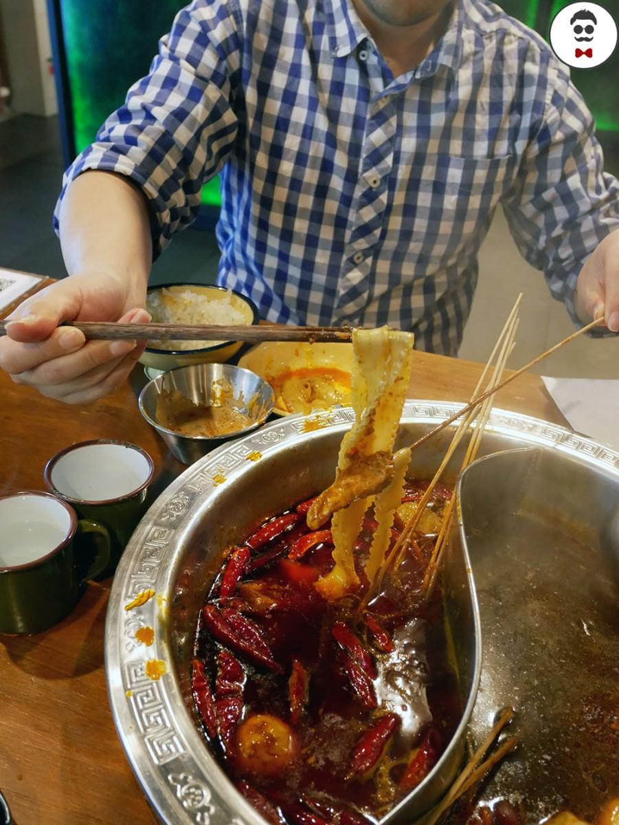 Half Spicy Half Mushroom Soup Base