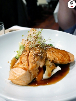 Sesame yuzu salmon