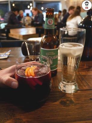 Hibiscus & Orange (cold drink)