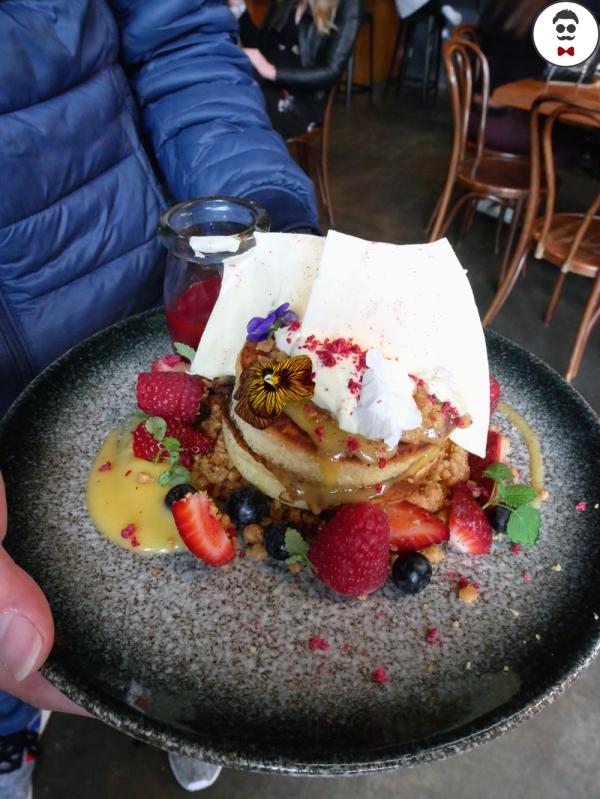 Raspberry and Lemon Hotcakes