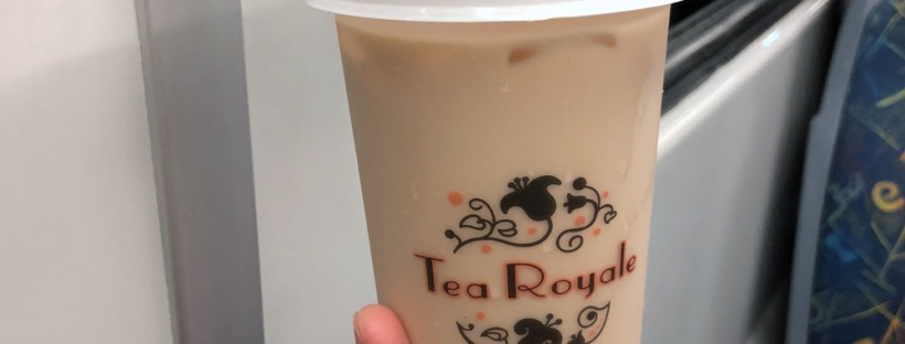 classic Royale Milk Tea with pearl