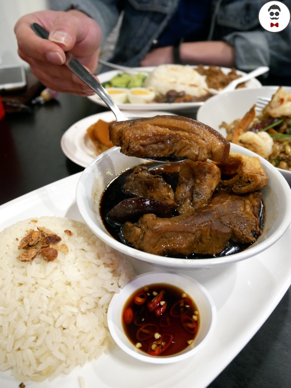 Bak Kut Teh with Hainanese Rice