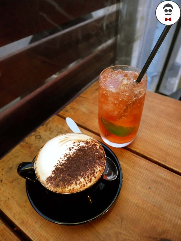 Cappuccino & Lemon Lime Bitter