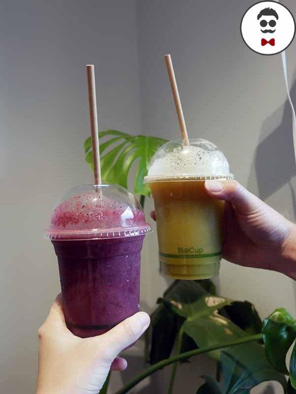 Cold Pressed Juice - B.A.C (basil, mint, cucumber, apple & lime)